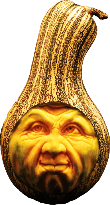 Realistic Gourd Carving