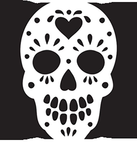 8 pumpkin stencils for your halloween pumpkin rh theodysseyonline com sugar skull pumpkin template sugar skull pumpkin stencil free